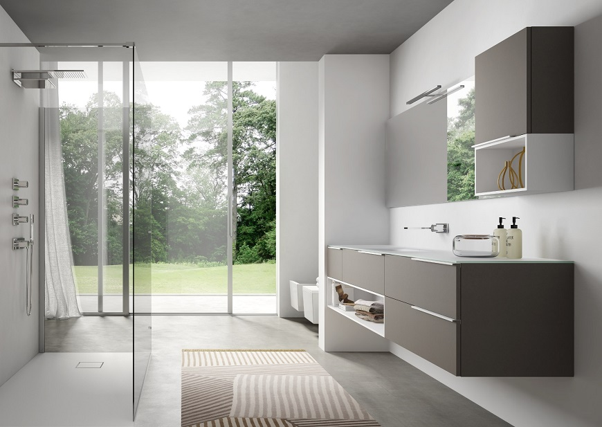 Arredamento Bagno Moderno E Classico.Arredo Bagno Torino Mobili Bagno Torino